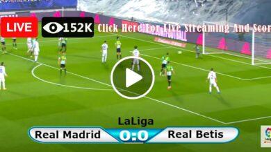 Photo of Real Madrid vs Betis Laliga LIVE Football Score 28/08/2021