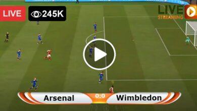Photo of Arsenal vs AFC Wimbledon EFL Cup LIVE Football Score 22/09/2021