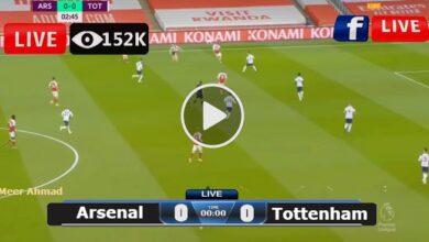 Photo of Arsenal vs Tottenham Premier League LIVE Football Score 26/09/2021