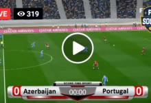 Photo of Azerbaijan vs Portugal Live Football Score 07-09-2021