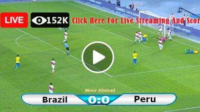 Photo of Brazil vs Peru LIVE World Cup Football Score 09/09/2021
