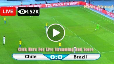 Photo of Chile vs Brazil World Cup CONMEBOL LIVE Football Score 03/09/2021