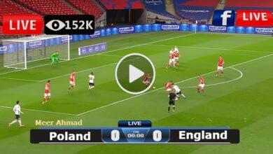 Photo of Poland vs England World Cup LIVE Football Score 08/09/2021