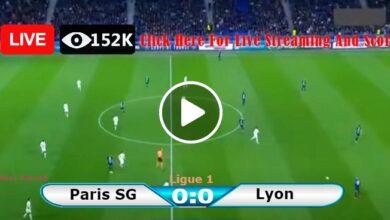Photo of Paris Saint-Germain vs Lyon France Ligue 1 LIVE Football Score 19/09/2021