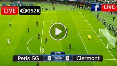 Photo of Paris SG Vs Clermont Ligue 1 LIVE Football Score 11/09/2021