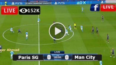 Photo of Paris SG vs Manchester City UEFA Champions League LIVE Football Score 28/09/2021