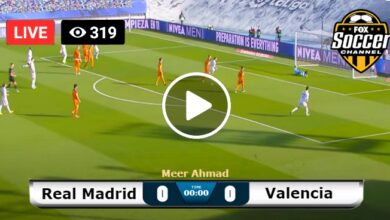 Photo of Real Madrid vs Valencia Laliga LIVE Football Score 19/09/2021