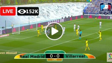 Photo of Real Madrid vs Villarreal Laliga LIVE Football Score 25/09/2021