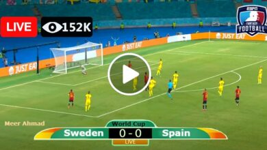 Photo of Sweden vs Spain World Cup LIVE Football Score 02/09/2021