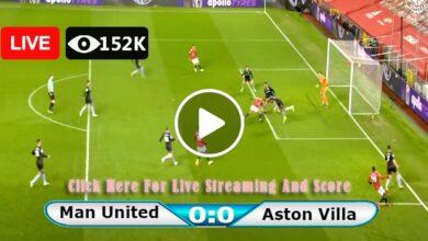 Photo of Manchester United vs Aston Villa Premier League LIVE Football Score 25/09/2021