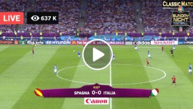 Photo of Italy vs Spain Live Football Score 05 October 2021