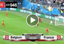 Photo of Belgium Vs France LIVE Football Score 7 Oct 2021