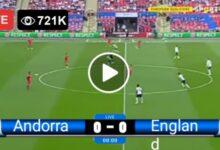 Photo of Andorra vs England LIVE Football Score 09/10/2021