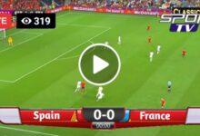 Photo of Spain vs France Nations League Finals. LIVE Football Score 10/10/2021