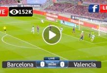 Photo of Barcelona vs Valencia Laliga LIVE Football Score 18/10/2021