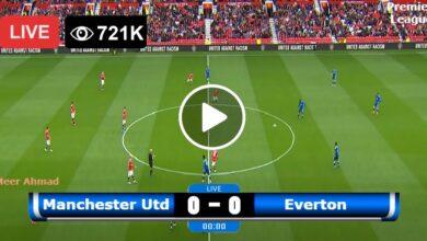 Photo of Manchester United vs Everton Premier League LIVE Football Score 02/10/2021