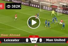 Photo of Leicester City vs Manchester United Premier League LIVE Football Score 16/10/2021