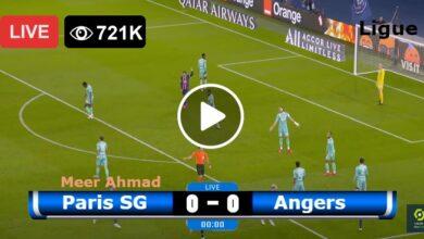 Photo of Paris Saint-Germain vs Angers Ligue 1 LIVE Football Score 15/10/2021
